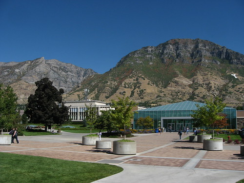 Harold B. Lee Library, Brigham Young University | by Ken Lund