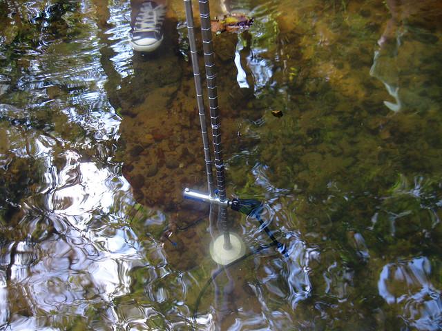 Marsh McBirney Flo-Mate, Falling Water River, Putnam / White Co, TN