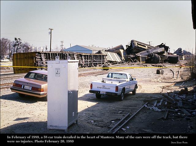 Manteca, CA 1989 derailment