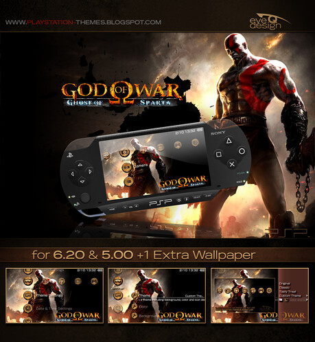 God of War - Ghost of Sparta PSP Theme | available on monday… | Flickr