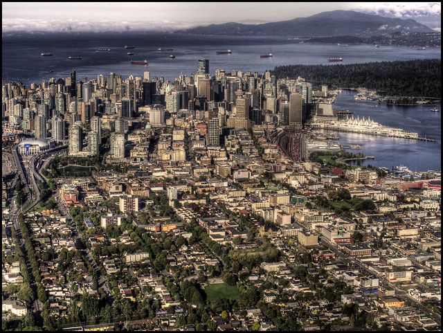 Morning over East Vancouver