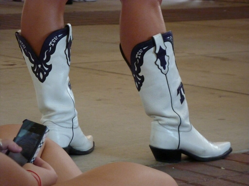professional sale casual shoes where to buy TCU Cowboy (Cowgirl) Boots   Lori Ceke   Flickr