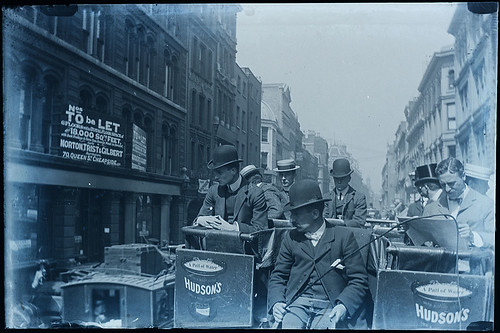 Newgate Street, London - lovely vintage street scene c. 1900 | by whatsthatpicture