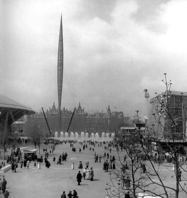 Skylon - Festival of Britain 1951