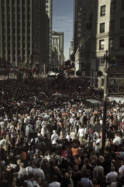 San Francisco Giants World Series Win Celebration (2010)