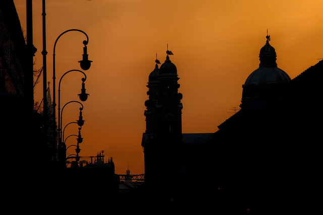 Munich in Silhouette