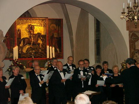 In concert at Kraftshof | by Basildon Choral Society
