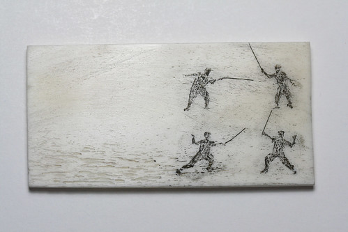 Fencers (photo Lin Cheung)