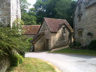Cottages at Bibury Mill   by Tip Tours