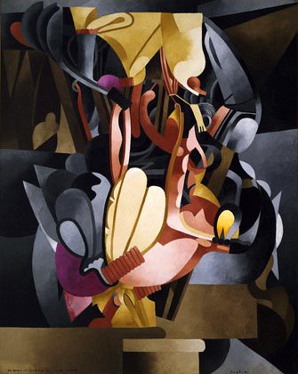 Picabia, Francis (1879-1953) - 1914 I See Again in Memory my Dear Udnie (Museum of Modern Art, New York City)