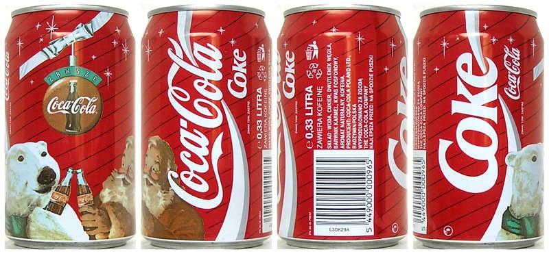 Coca Cola Christmas.1994 Coca Cola Christmas Polar Bear Poland Jose Roitberg