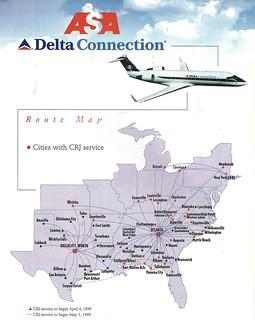 Delta Flight Maps on
