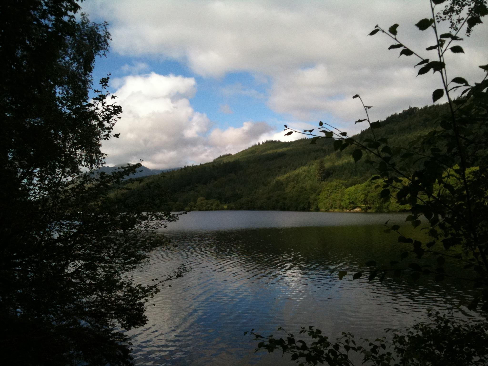 View over Loch Lochy