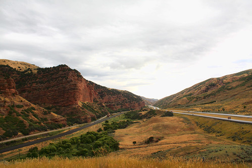 road utah highway canyon interstate echocanyon