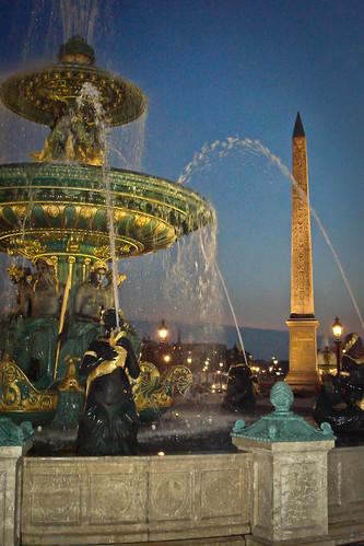 Paris, Place de La Concorde at night | by M.Maselli