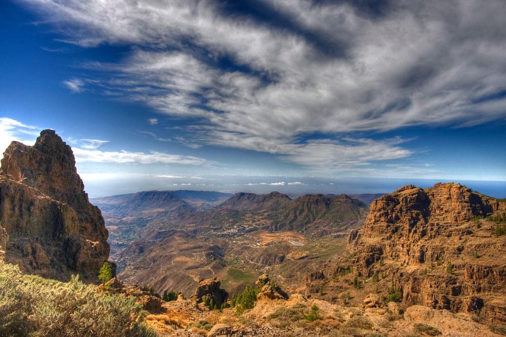 La Caldera De Tirajana Gran Canaria