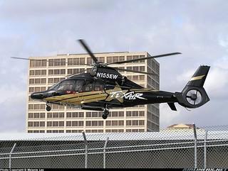 Tex-Air Helicopters Eurocopter EC-155B-1 Super Dauphin N155EW @ TS31