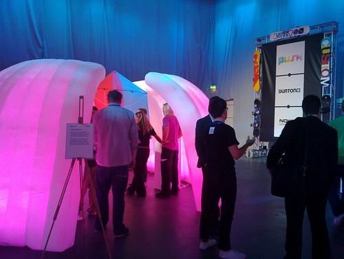 "Push ""Iglu"" at Nokia World 2010"