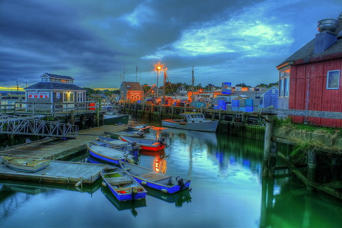 sunset sunrise boats harbor boat massachusetts plymouth hdr deaddogseye
