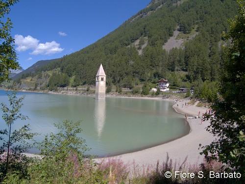 Curon Venosta (BZ), 2010, il Lago di Resia.