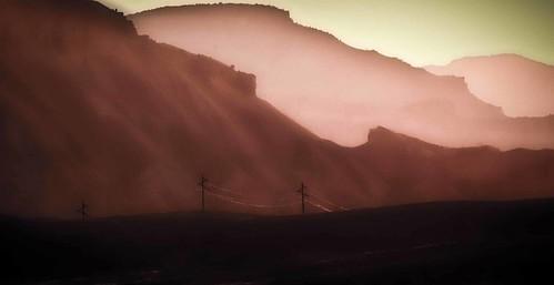 mountains sunrise grandvalley mtgarfield bookcliffs