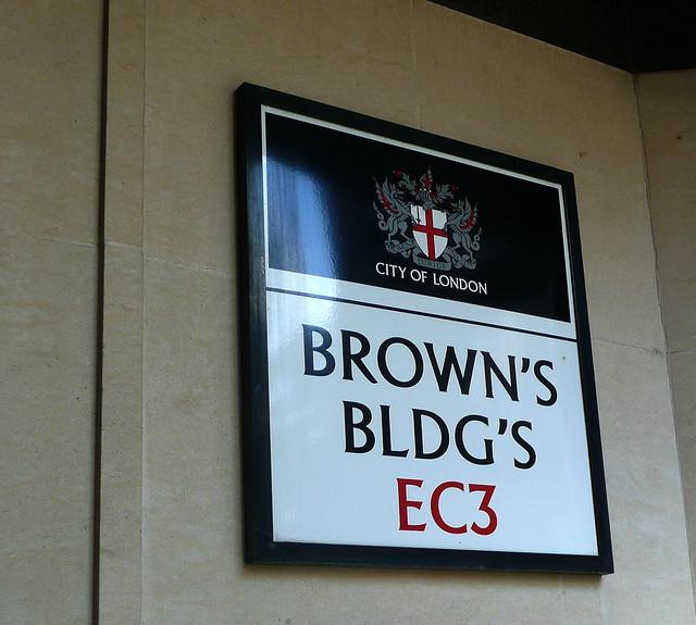 Brown's Buildings EC3 (City Of London)