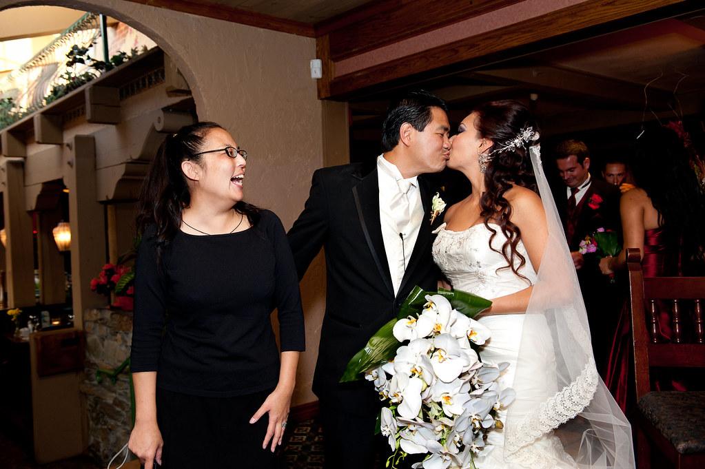 Monterey Park Wedding Officiant At Luminarias At Luminaria