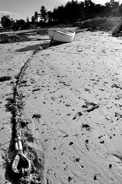 ...echoué sur la plage...l'ile d'Yeu