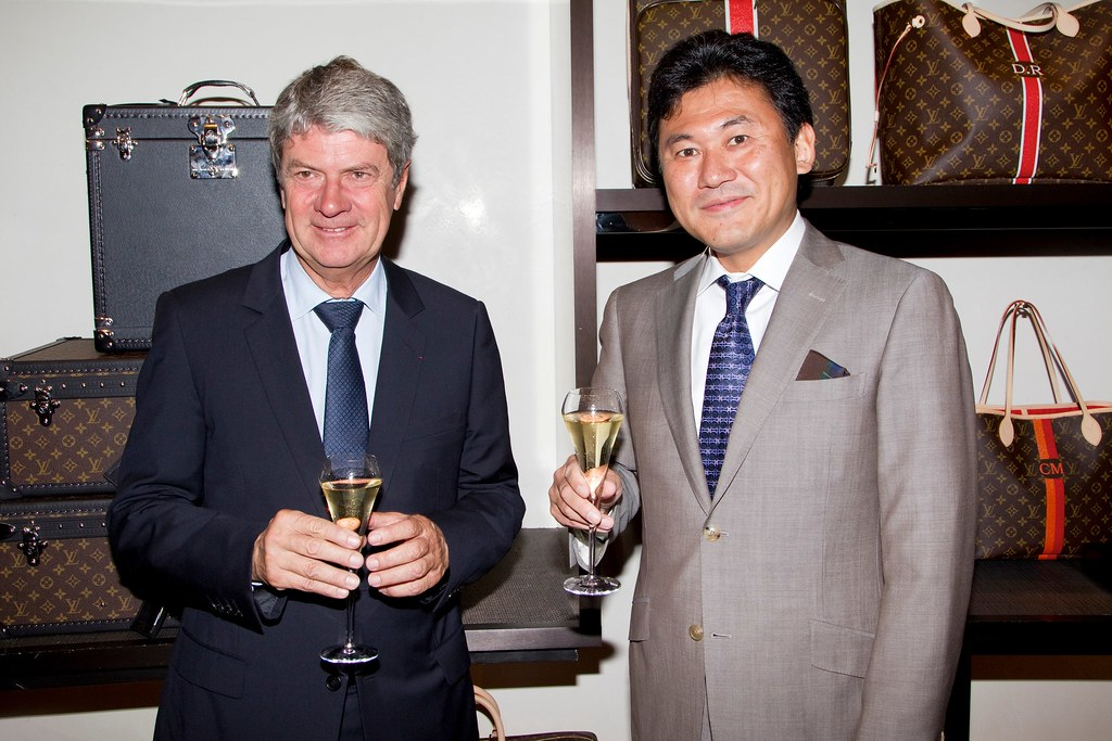 bae7d59b1e6 Yves Carcelle (CEO of Louis Vuitton) and Hiroshi Mikitani … | Flickr