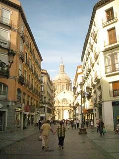 The streets of Zaragoza   by jetsetwhitetrash