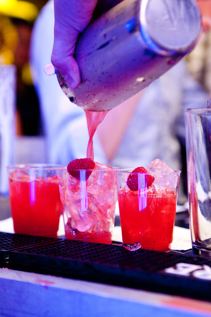 Pouring out the Bella Fragola