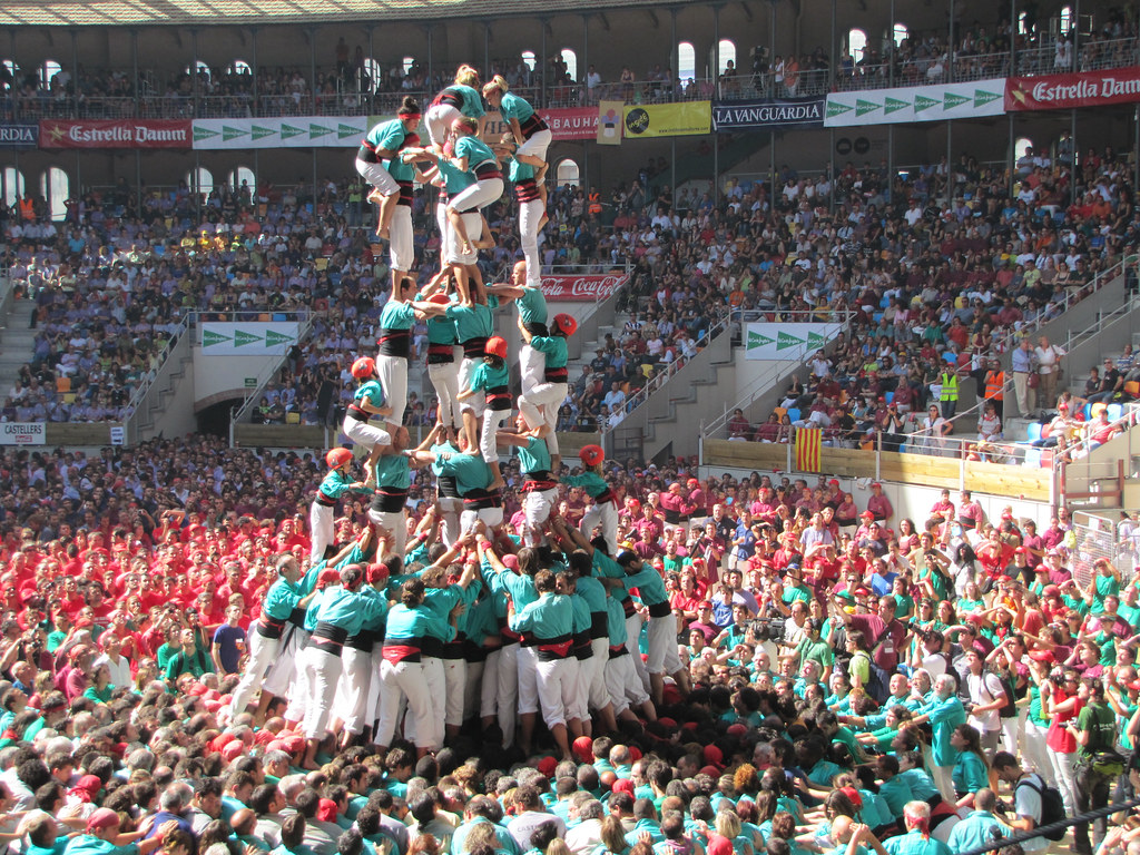 Concurs Castellers Tarragona 2010 (human towers)
