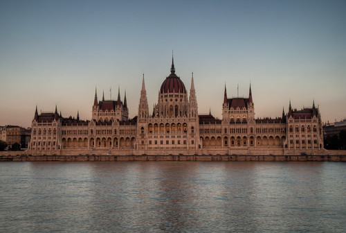 Parliament sunset HDR | by AZso