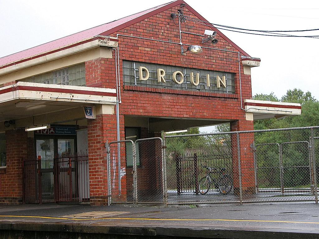 Drouin Railway Station, VIC, Australia by phunnyfotos