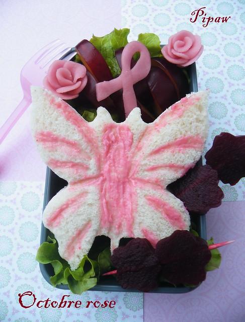 Bento 22 octobre rose