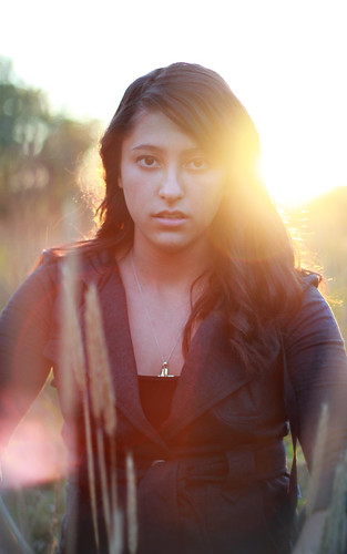 sunset girl canon lens pretty dof bokeh explore flare f18 disarray t2i mi8key