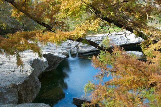Upper McKinney Falls, McKinney Falls State Park, Austin, Texas