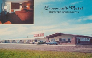 Crossroad's Motel - Beresford, South Dakota | by Cardboard America Archives