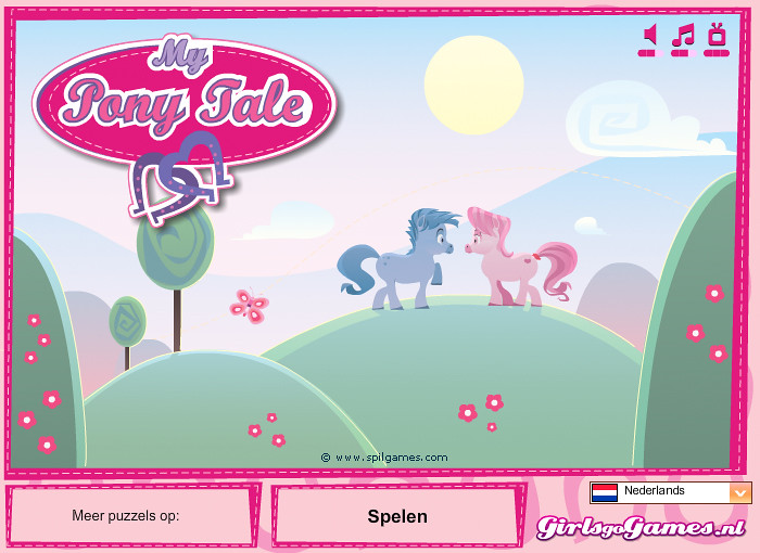 Pony Tale | Spot the difference game. www.girlsgogames.nl ...