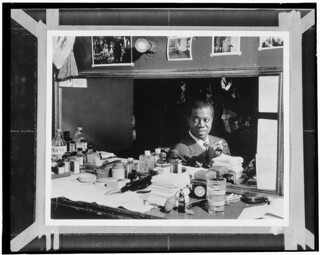[Portrait of Louis Armstrong, Aquarium, New York, N.Y., ca. July 1946] (LOC) | by The Library of Congress