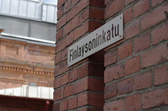 Finlaysoninkatu sign