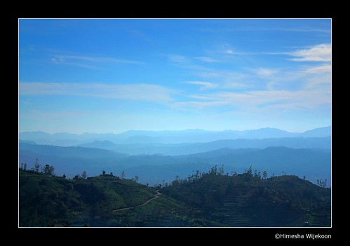 blue sky nature landscape bluesky srilanka teaestate nuwaraeliya hakgala welimadaplateau