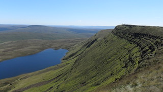 Black Mountain, Fan Brycheiniog & Llyn y Fan Fawr, Aug 2010