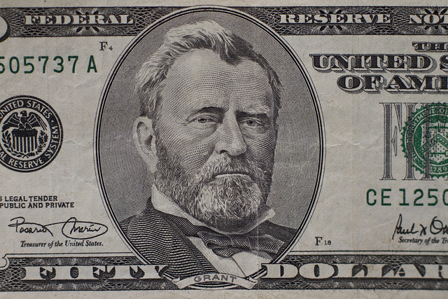 U.S. Fifty dollar bill (2013)