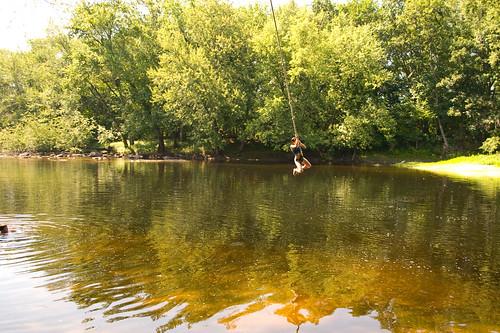 summer water river fun village nh hopkinton ropeswing contoocook 03229