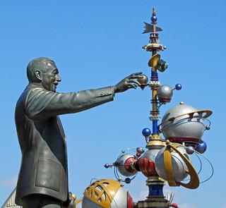 Walt Fixing the Astro Orbitor