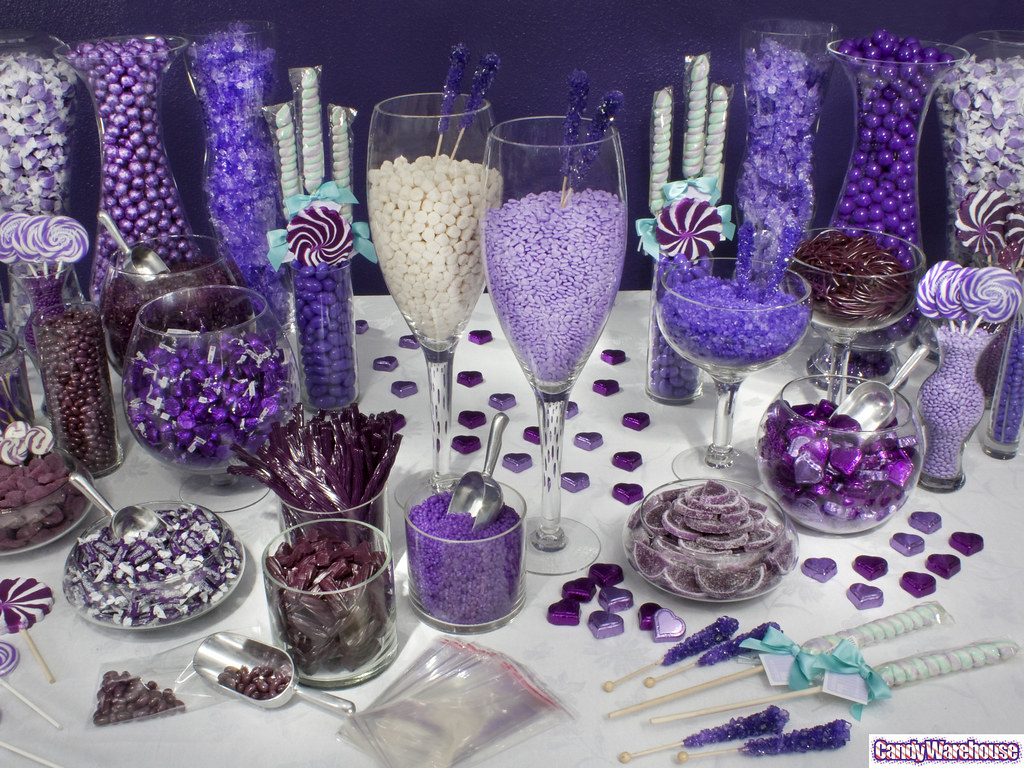 purple candy buffet featuring the color of royalty this e flickr rh flickr com purple sweets for candy buffet