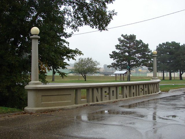Original Lincoln Highway bridge-Tama,IA
