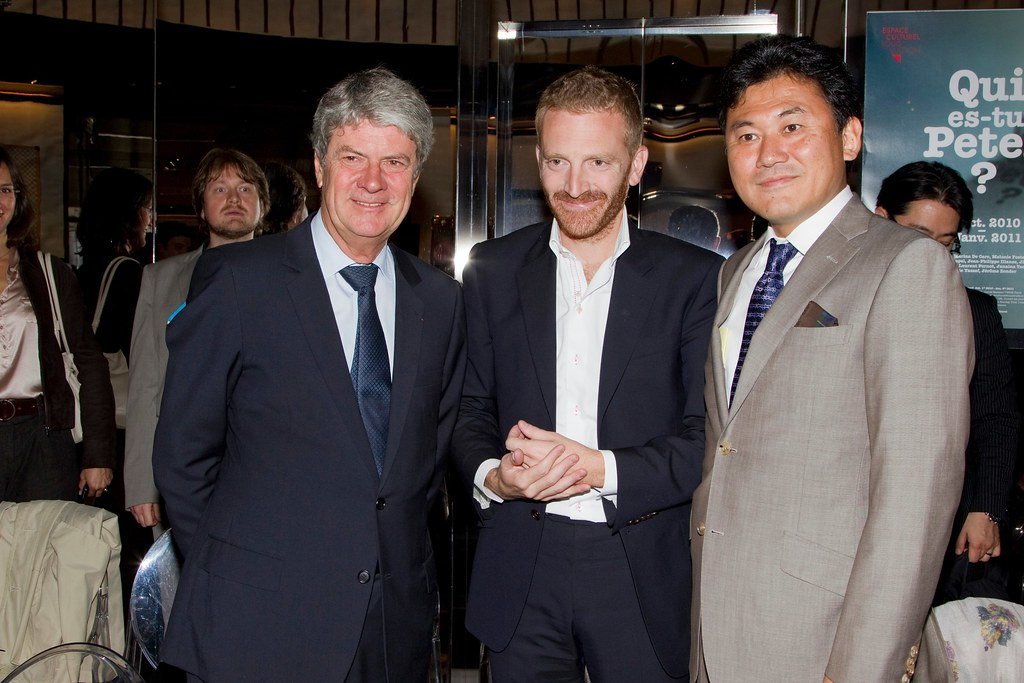 13d563a4242 Yves Carcelle (CEO of Louis Vuitton), Pierre Kosciusko-Mor… | Flickr