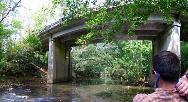 South Bunker Hill road bridge, Dr. Evan Hart, Falling Water River, Putnam / White Co, TN
